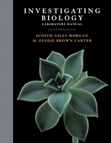 amazon com investigating biology lab manual 7th edition rh amazon com Life Biology 9th Edition Campbell Biology Ninth Edition Contents Detailed