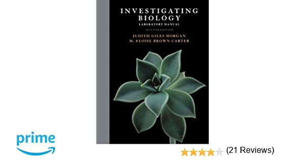 Investigating Biology Lab Manual 7th Edition