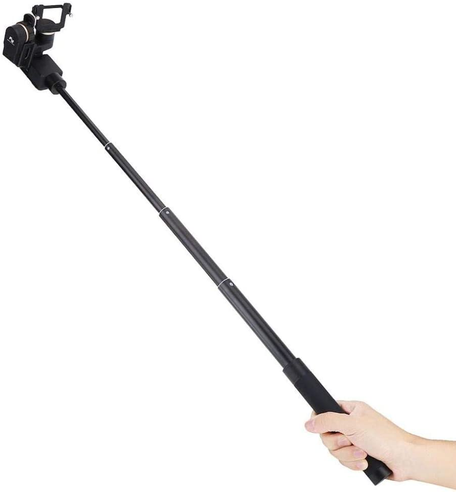 Wandisy Adjustable Extension Selfie Stick Compatible with Gimbal Stabilizer for Feiyu G5 WG2 SPG Stabilizer