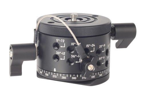 SunwayFoto DDP-64MX Indexing Rotator for Panoramas, 22.04lbs Capacity by SUNWAYFOTO