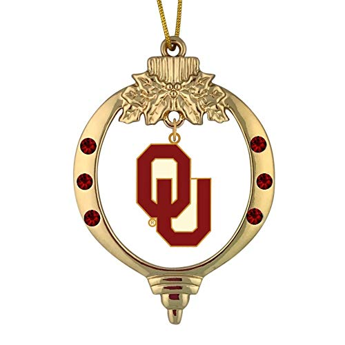 - Final Touch Gifts University of Oklahoma Sooners Christmas Ornament