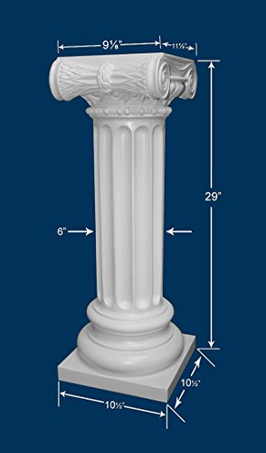 Unique Amazon.com: Pedestal - Roman Ionic Style - Off White: Home & Kitchen FJ18