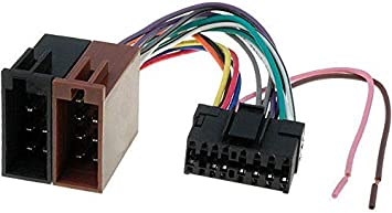 Cable Faisceau Connecteur ISO Sony autoradio Adaptateur 16 pins