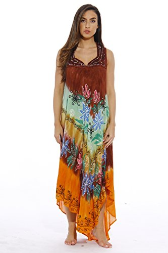 Love Tie Dye Dress (21530-M Riviera Sun Summer Dresses / Swimsuit Cover Up / Resort)