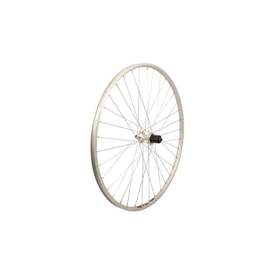 Sta Tru Silver Alloy 8 9 10 Speed Cassette Hub Rear Wheel (700X25)