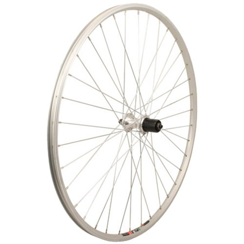 Sta Tru Silver Alloy 8 9 10 Speed Cassette Hub Rear Wheel (700X25)