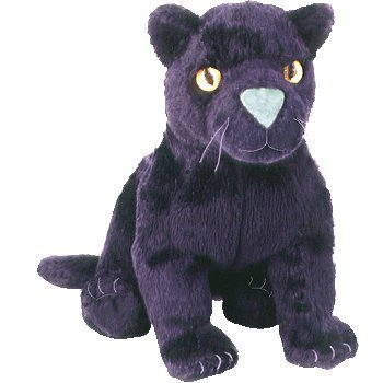 Image Unavailable. Image not available for. Color  Ty Beanie Babies -  Midnight the Black Panther ... 7c4c5d2fe01
