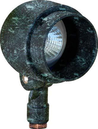 Dabmar Lighting LV201-LED7-VG Deep Cone LED Spot Light - 7W - MR16 12V44; Verde Green