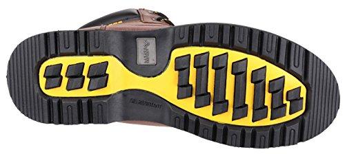 Amblers Safety - Botas de senderismo para hombre Marrón - marrón