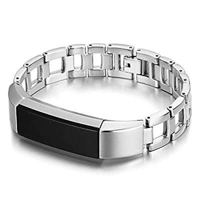 Henoda Metal Bands Stainless Steel Bracelet for Fitbit Alta