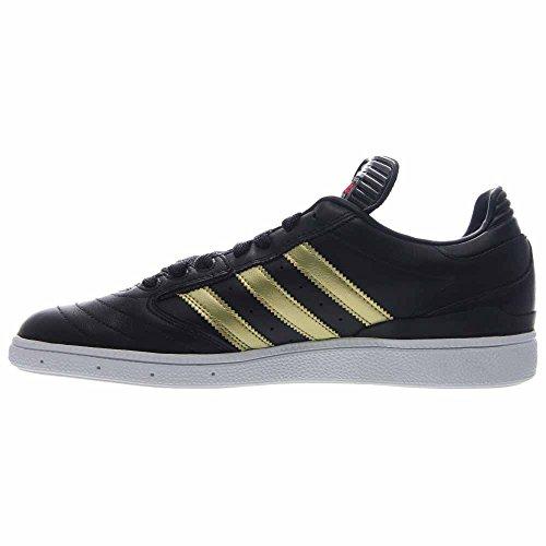 Adidas Heren Busenitz Scheinfeld Zwart / Goud-wit Leder Zwart