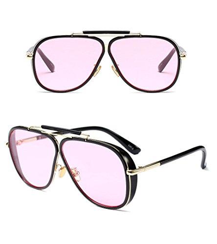 Retro GUO al D Las de de Aire Sol Libre Gafas Sol D Estilo de para Gafas y Hombres Tendencia con rqrHnSx