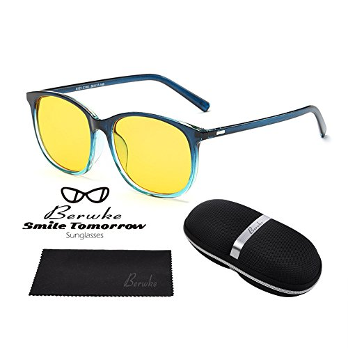 Night Driving Glasses Polarized Sunglasses Anti Glare Rainy Safe HD Night Vision - Safe Sunglasses Are