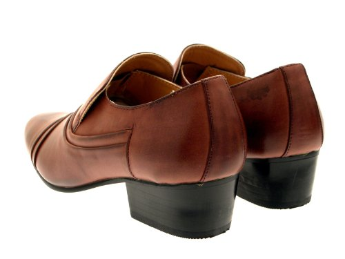 Lora Dora - Mocasines para hombre - Slip On - Tan