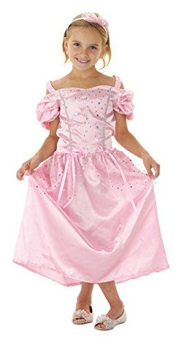Prinzessin Kleid rosa Kinder Kostüm Ballkleid Kinderkostüm 3-5 Jahre Gr S