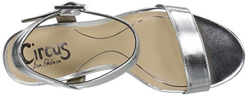 Sandals by Circus Ashton Silver Soft Women's Fashion Sam Edelman UPYPBv