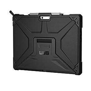 URBAN ARMOR GEAR UAG Microsoft Surface Pro X Metropolis Feather-Light Rugged [Black] Military Drop Tested Case