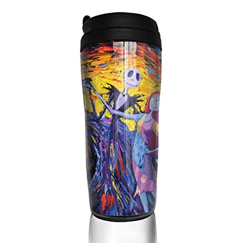 Wodehous Adonis Jack Sally Jack And Sally Nightmare Before Christmas Vincent Van Gogh Starry Night Stylish Insulated Traveler Coffee Mug Tumbler Coffee Cup 12 Oz]()