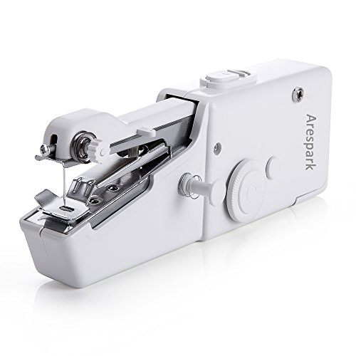 Discover Bargain Arespark Sewing Machine, Portable Mini Handheld Sewing Machine, Quick Stitch Tool f...