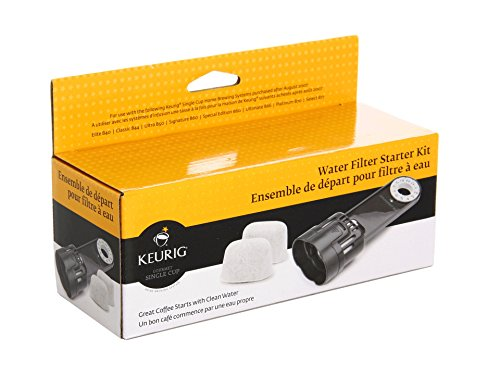 Keurig K-Classic Water Filter Starter Kit Replacement