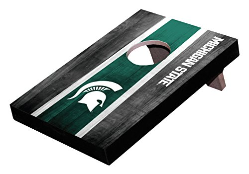 Wild Sports NCAA College Michigan State Spartans Table Top Toss (Spartan Shield Design)