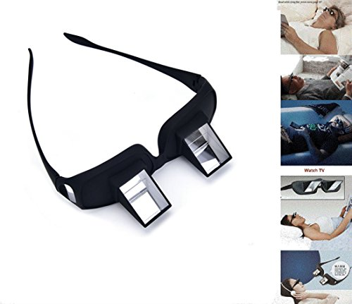 Prism Glasses,Hangang Prism Eye Glasses or Bed Prism Spectacles Lazy Glasses For Reading and Watching TV