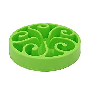 Slow Feeder Bowl, Dog Puzzle Maze Feeder Interactive Fun Feeder Food Water Dish Bowl for Dog Weight Loss Prevent Pet Choke by Wusjyeda 85%OFF