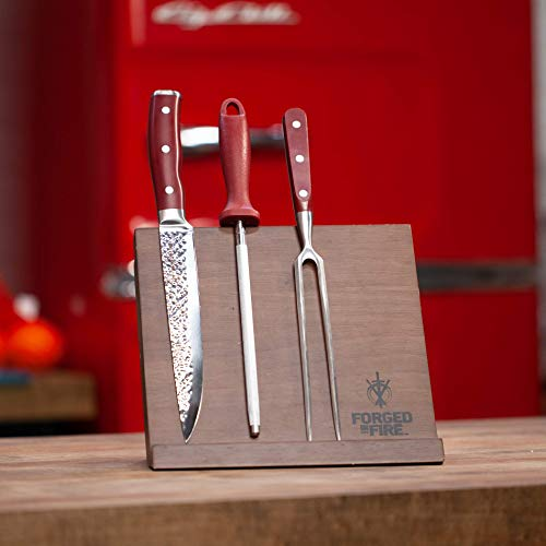 HISTORY - Forged in Fire – Magnetic Knife Block – Natural Wood, Space Saver by Forged in Fire (Image #4)