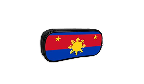 d51d4ef2d451 Amazon.com  Pencil Case - Originality Philippines Flag Pencil Pouch  Stationery Organizer Multifunction Cosmetic Makeup Bag Perfect Holder for  Pencils and ...