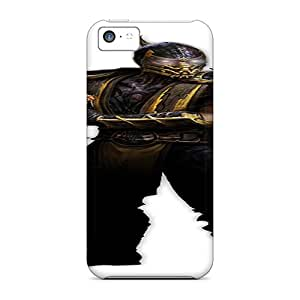 New Premium SHiNiNG Scorpion Skin Case Cover Excellent Fitted For Iphone 5c