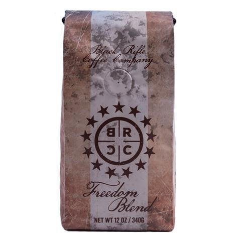 Black Rifle Coffee Company Ground Coffee 2-12oz Bags (Freedom Blend Ground Coffee)