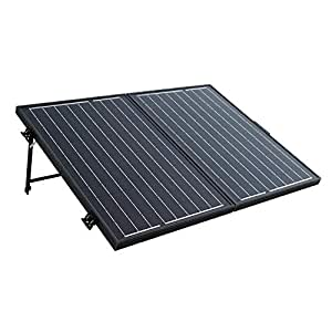 dchouse 100W 12V Mono plegable Panel Solar con controlador de carga