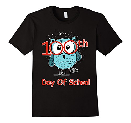 Cute Owl 100th Day Of School T-shirt 100 Days Smarter Tee for $<!--$19.99-->