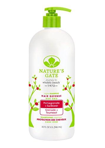 Nature's Gate Pomegranate + Sunflower Hair Defense Shampoo, 32 Fluid Ounce