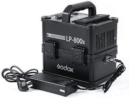 Godox Lp 800 X Portable Outdoor Output Lithium Ion Battery Power Inverter 100 120 Amazon De Garten