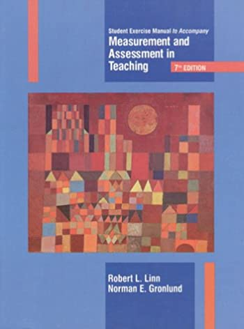 measurement student manual norman e gronlund 9780131927186 rh amazon com Bledsoe Measurements by Manual Water Measurement Manual 3rd Edition