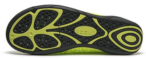 Tesla Männer Frauen & Kinder Slip-On Quick-Dry Minimal Strand Aqua Schuhe A101 / A102 TF-A101-NEG