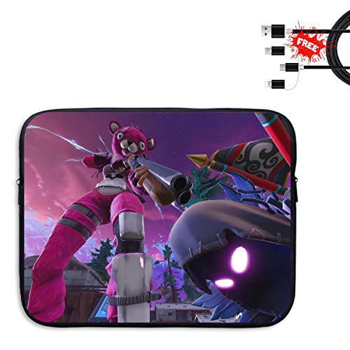 Price comparison product image RAIN HEART Fortnite Laptop Sleeve Bag for MacBook / Ultrabook / HP / Acer / Asus / Dell / Lenovo / Thinkpad Cover Computer - 13 in