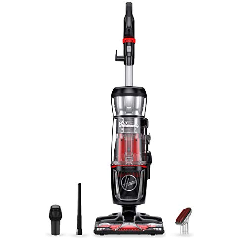 Hoover MAXLife Pro Pet Swivel Bagless Upright Vacuum Cleaner, HEPA Media Filtration, For Carpet and Hard Floor, UH74220PC, Black