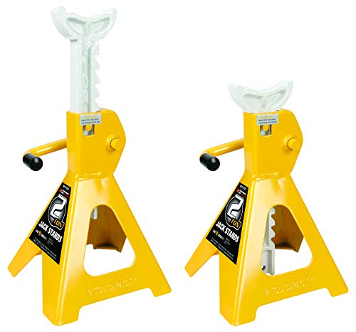 2 Ton Jack Stands - Performance Tool W41021 2 Ton (4,000 lbs.) Capacity Heavy Duty Jack Stand Set