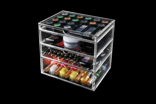 Icebox makeup organizer amazon