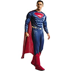 Adult Batman V Superman: Dawn of Justice- Deluxe Superman Costume