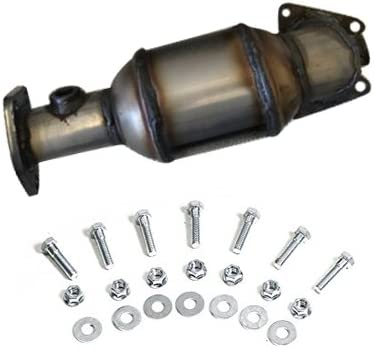 Catalytic Converter compatible with 03-07 Accord 3.0L|05-08 Pilot 3.5L|05-10 Odyssey 3.5L|06-08 Ridgeline 3.5L|03-06 MDX 3.5L|07-09 MDX 3.7L|07-08 TL 3.5L|04-08 TL|04-07 Saturn Vue Firewall Side
