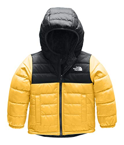 (The North Face Kids Baby Boy's Reversible Mount Chimborazo Hoodie (Toddler) TNF Yellow 2T Toddler)