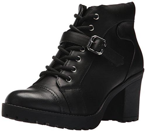XOXO Women's Patalina Boot, Black, 9 M US