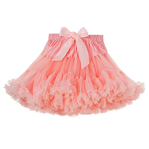 Twippo Girl Tutu Skirt Party Tutus Pure Color 3-4T/110 by Twippo