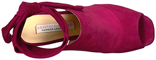 Cavallari Chinese Leeds Sandal Women's Laundry Kristin Suede Berry Dress qpxrS7pEw