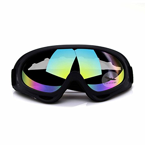 Freehawk® Adjustable UV Protective Outdoor Glasses Motorcycle Goggles Dust-proof Protective Combat Goggles Military Sunglasses Outdoor Tactical Goggles to Prevent Particulates in - Snow Glasses