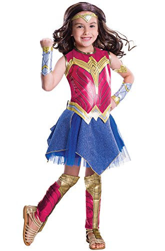 superman+costumes Products : Batman V Superman: Dawn Of Justice - Deluxe Wonder Woman Costume for Kids