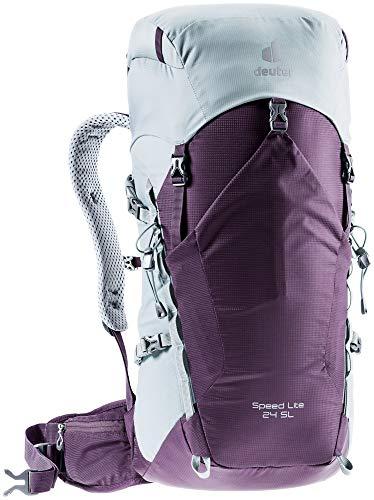 Deuter Women's Speed Lite 24 SL Hiking Backpack, Plum-tin, 24 L